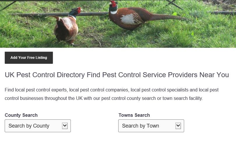 Citation Site for Pest Control